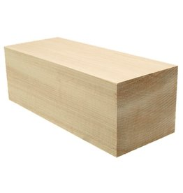 Wood Basswood Block 10''x4''x3.5''