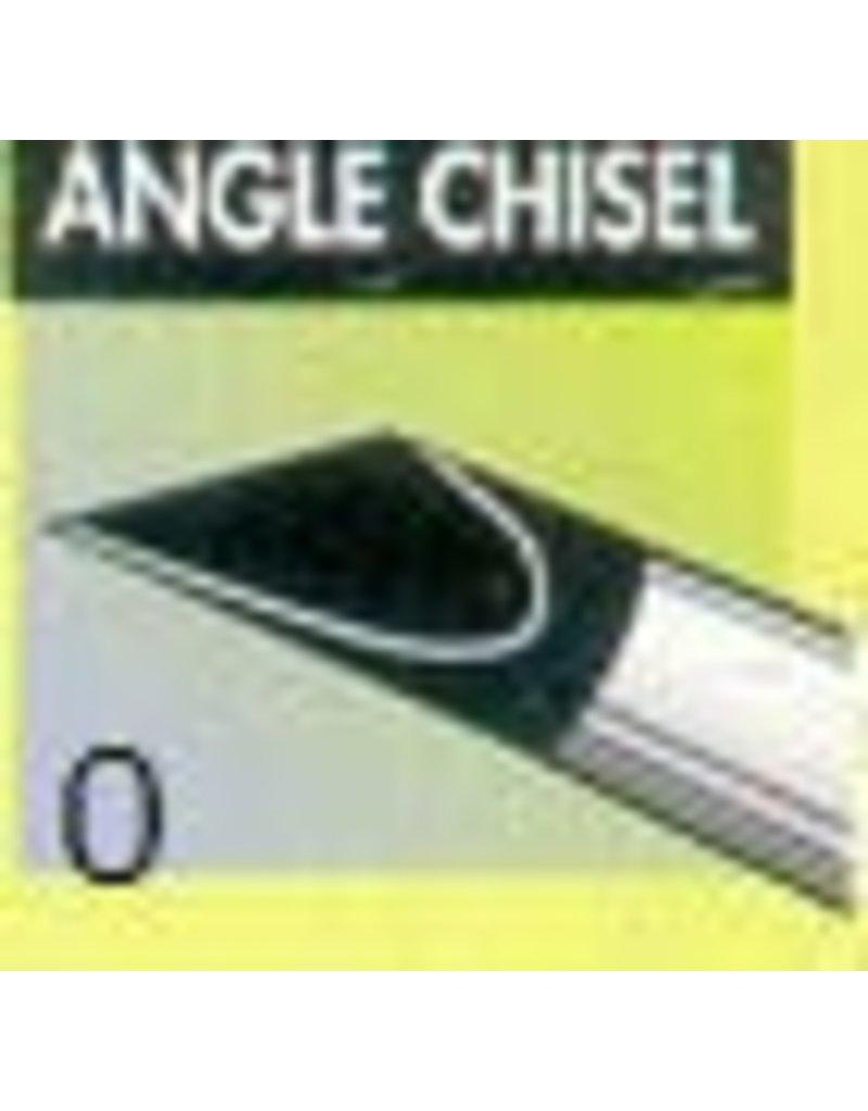 Clay Shaper Black Angle Chisel #0 Clayshaper