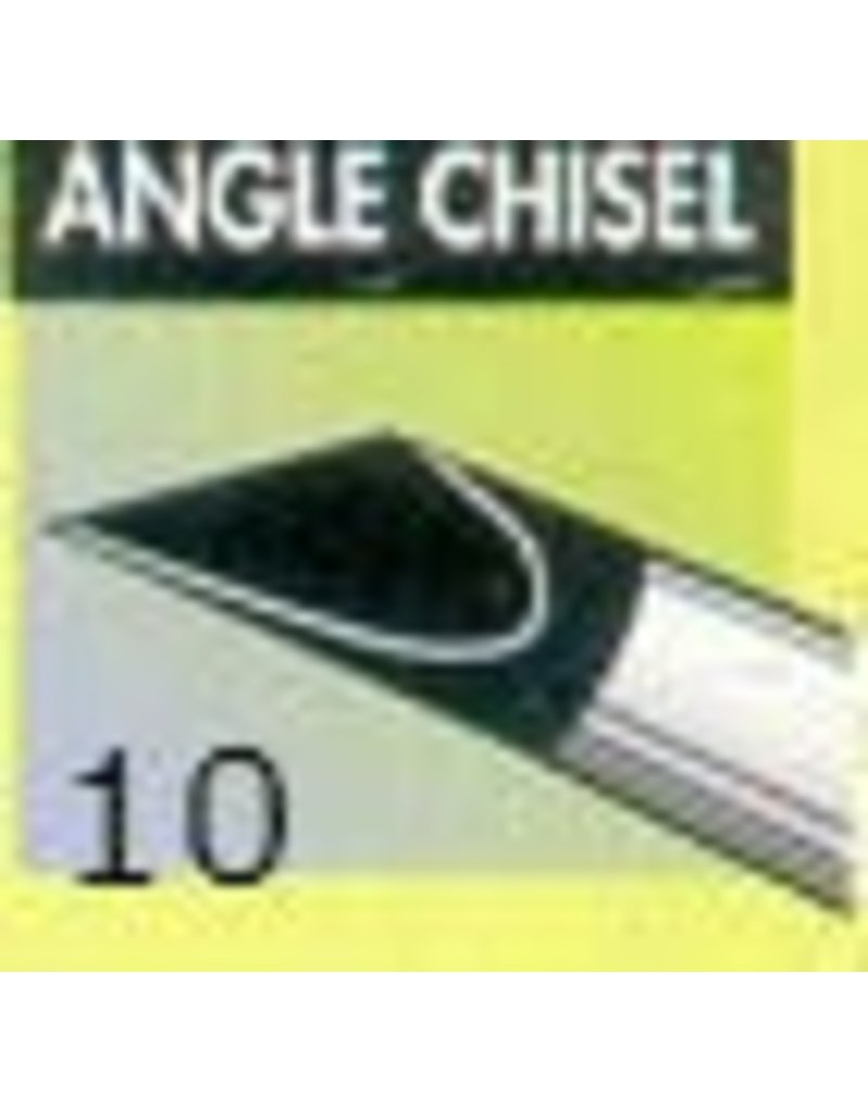 Clay Shaper Black Angle Chisel #10 Clayshaper