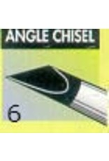 Clay Shaper Black Angle Chisel #6 Clayshaper