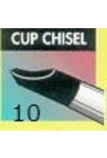 Clay Shaper Black Cup Chisel #10 Clayshaper