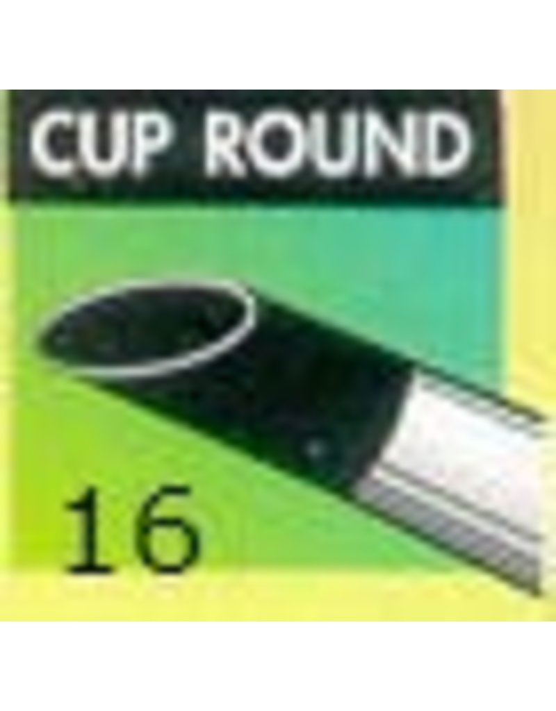 Clay Shaper Black Cup Round #16 Clayshaper