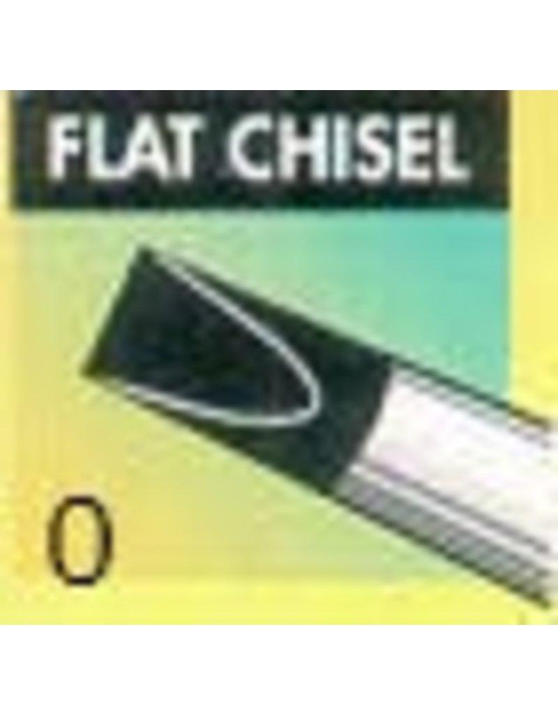 Clay Shaper Black Flat Chisel #0 Clayshaper