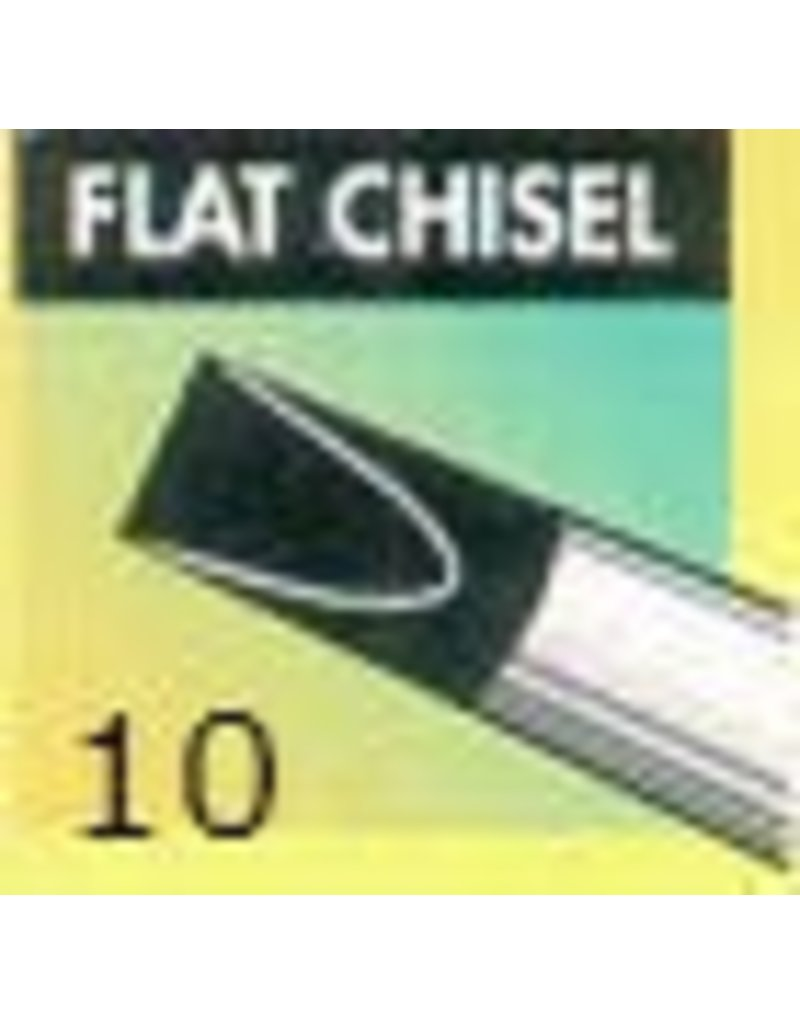 Clay Shaper Black Flat Chisel #10 Clayshaper