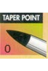 Clay Shaper Black Taper Point #0 Clayshaper