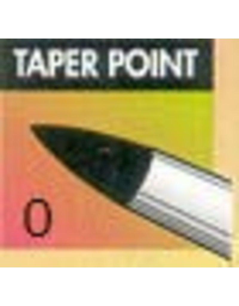 Clay Shaper Black Taper Point #0 Clayshaper