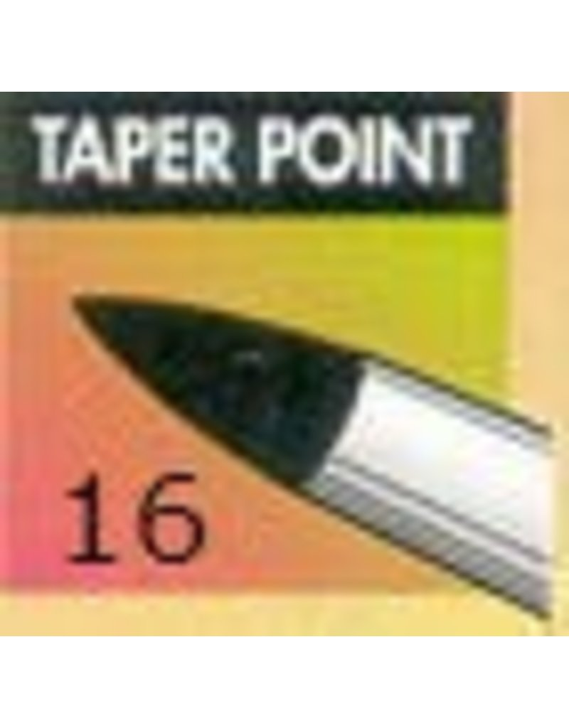 Clay Shaper Black Taper Point #16 Clayshaper