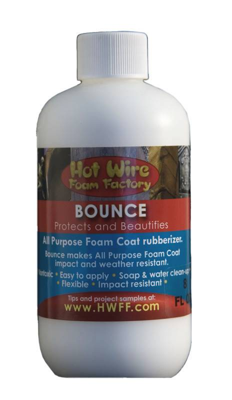 Hot Wire Foam Factory Bounce 16oz Foam Coat Additive