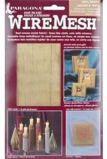 Amaco, Inc. Brass Fabric  16''x20'' 1 Sheet Wireform