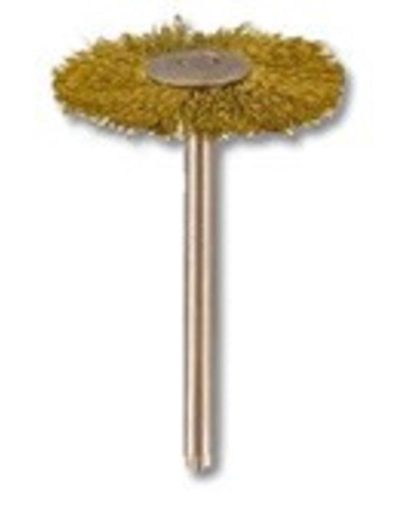 Brass Wire Wheel 1''x3/32''