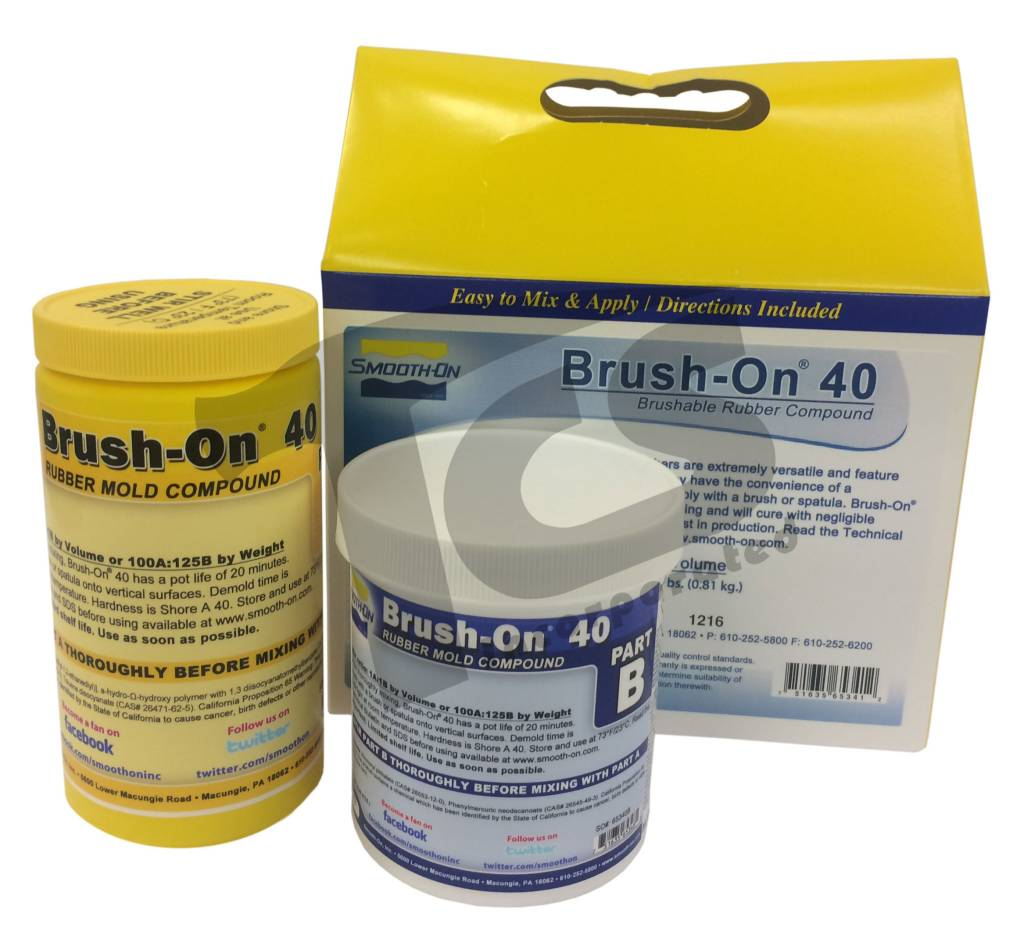Smooth-On BRUSH-ON 40 Trial Kit