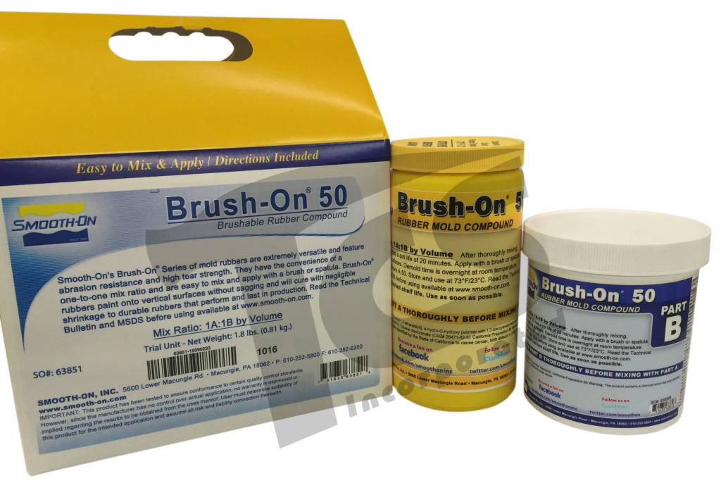 Smooth-On BRUSH-ON 50 Trial Kit