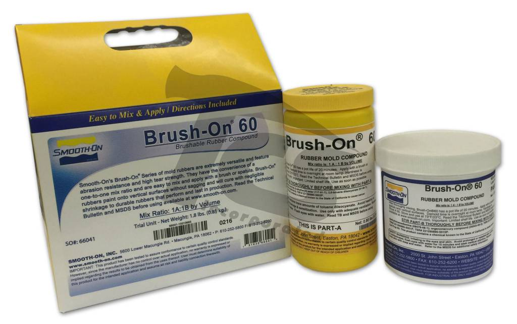 Smooth-On BRUSH-ON 60 Trial Kit