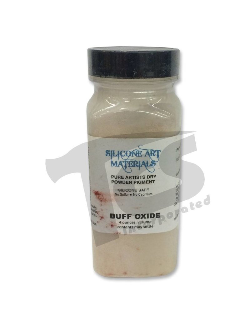 silicone art materials SAM Dry Pigment Buff Oxide 4oz