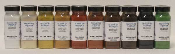 SAM SAM Dry Pigment Burnt Sienna 4oz
