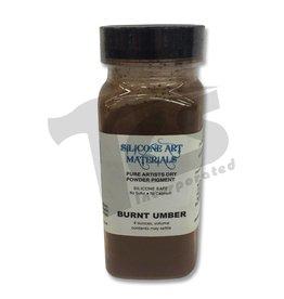 silicone art materials SAM Dry Pigment Burnt Umber 4oz