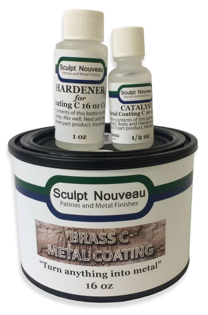 Sculpt Nouveau C Metal Coat Brass 16oz Kit