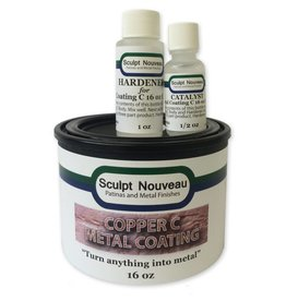 Sculpt Nouveau C Metal Coat Copper 16oz Kit