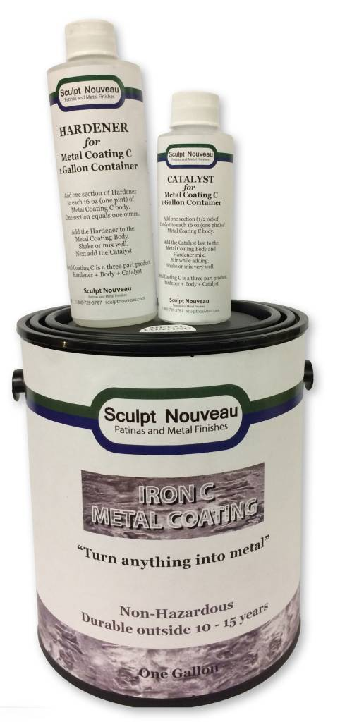 Sculpt Nouveau C Metal Coat Iron Gallon Kit