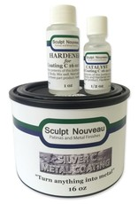 Sculpt Nouveau C Metal Coat Silver 16oz Kit