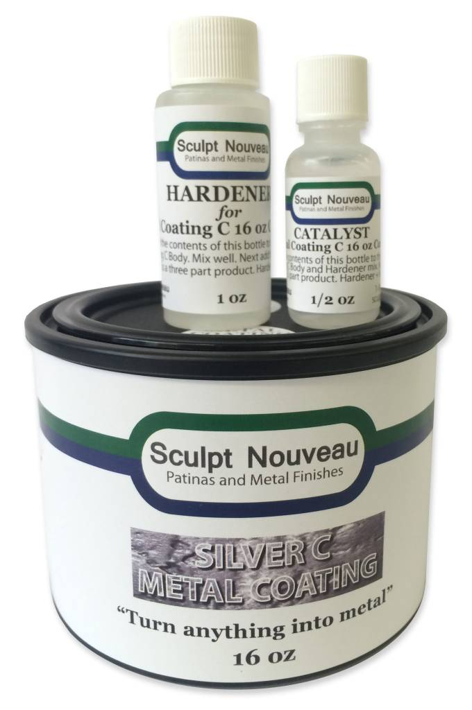 Sculpt Nouveau C Metal Coat Silver 16oz Kit