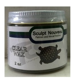Sculpt Nouveau Metal Wax Clear 2oz