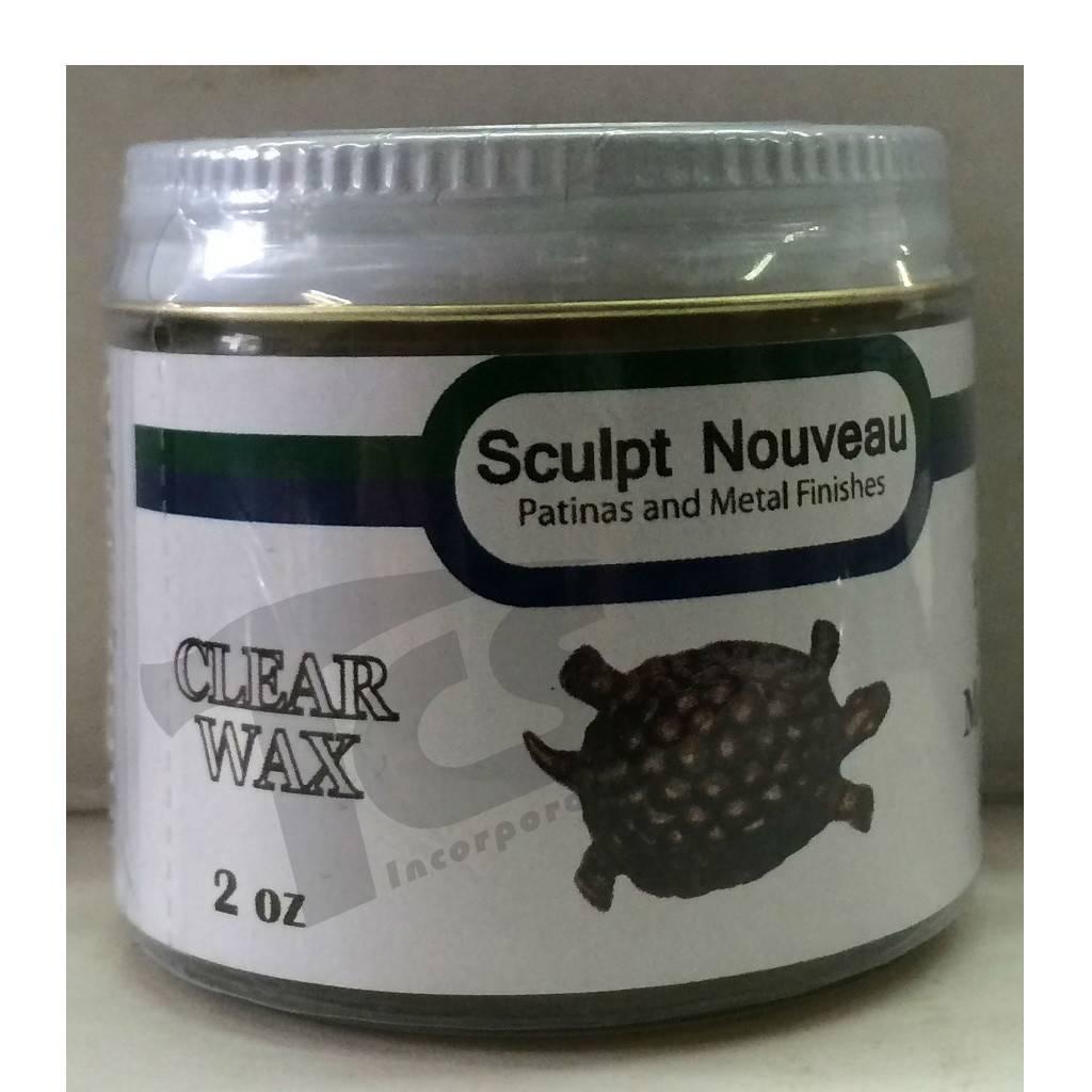 Sculpt Nouveau Metal Wax Clear 2oz