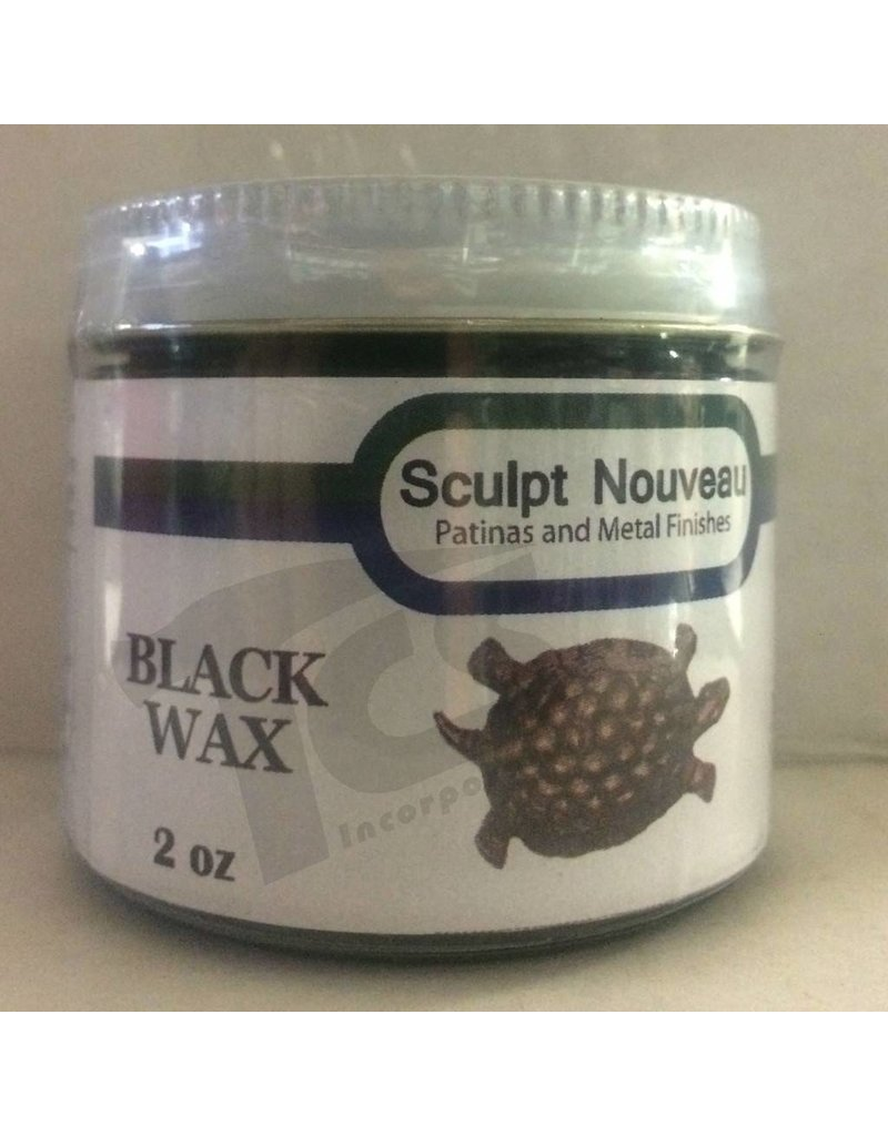 Sculpt Nouveau Metal Wax Black 2oz