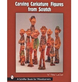 Schiffer Publishing Carving Caricature LeClair Book