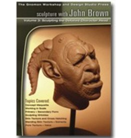 Gnomon Workshop Character Head Sculpture John Brown DVD #3