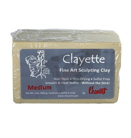 Chavant Clayette Cream Medium 2lb