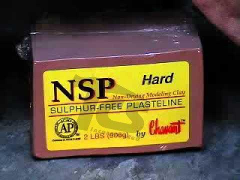 Chavant NSP Hard Brown 2lb