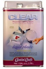 ETI Clear Polyester Casting Resin Gallon Kit