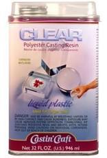 ETI, Inc Clear Polyester Casting Resin Quart Kit