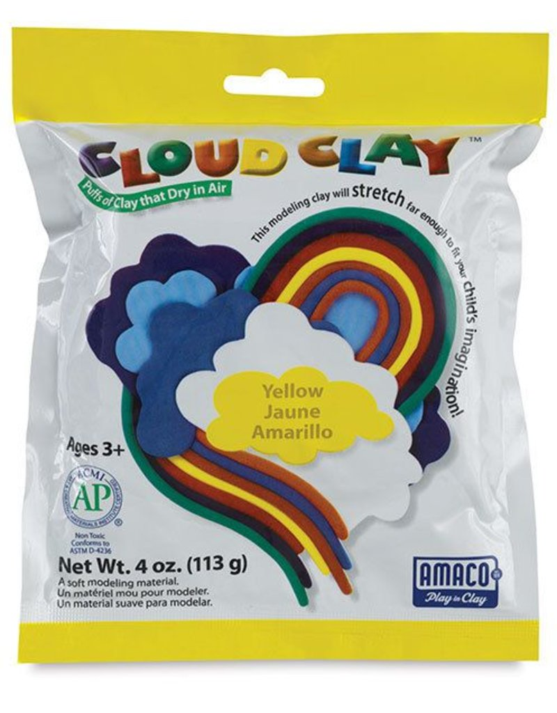 Amaco Cloud Clay Yellow