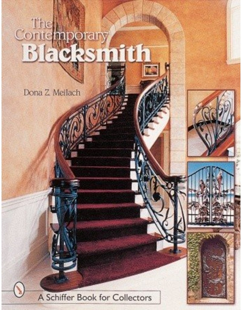 Schiffer Publishing Contemporary Blacksmith Meilach Book