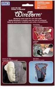 Amaco Contour Mesh 16''x20'' 1 Sheet Wireform