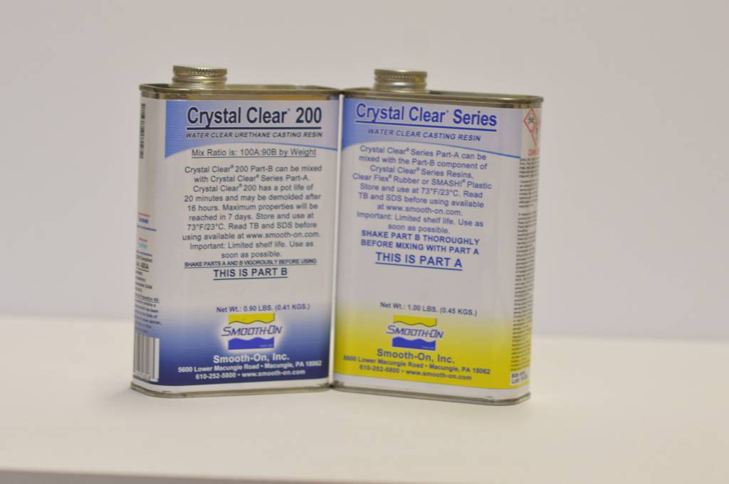 Smooth-On Crystal Clear 200 Trial Kit