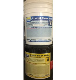 Smooth-On Crystal Clear 202 10 Gallon Kit