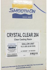Smooth-On Crystal Clear 204 2 Gallon Kit