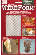Amaco, Inc. Diamond Mesh 16''x20'' 1 Sheet Wireform