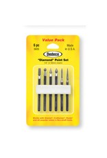 Dedeco International Diamond Point Set 6pc