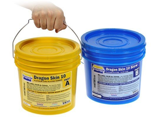 Smooth-On Dragon Skin 10 Slow (2 Gallon Kit)