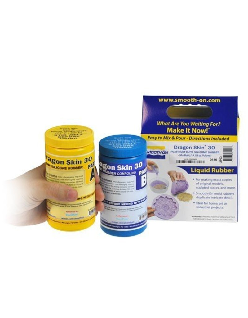 Smooth-On Dragon Skin 30 Trial Kit
