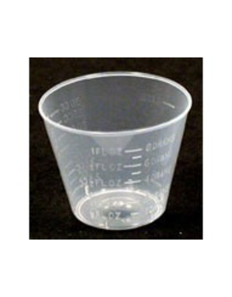 Dram Mixing Cups 100pc Sleeve