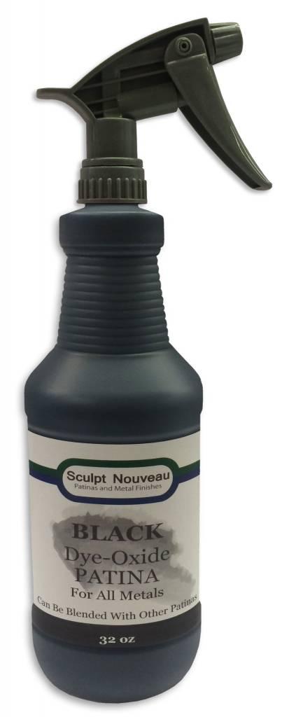 Sculpt Nouveau Dye Oxide Black 32oz