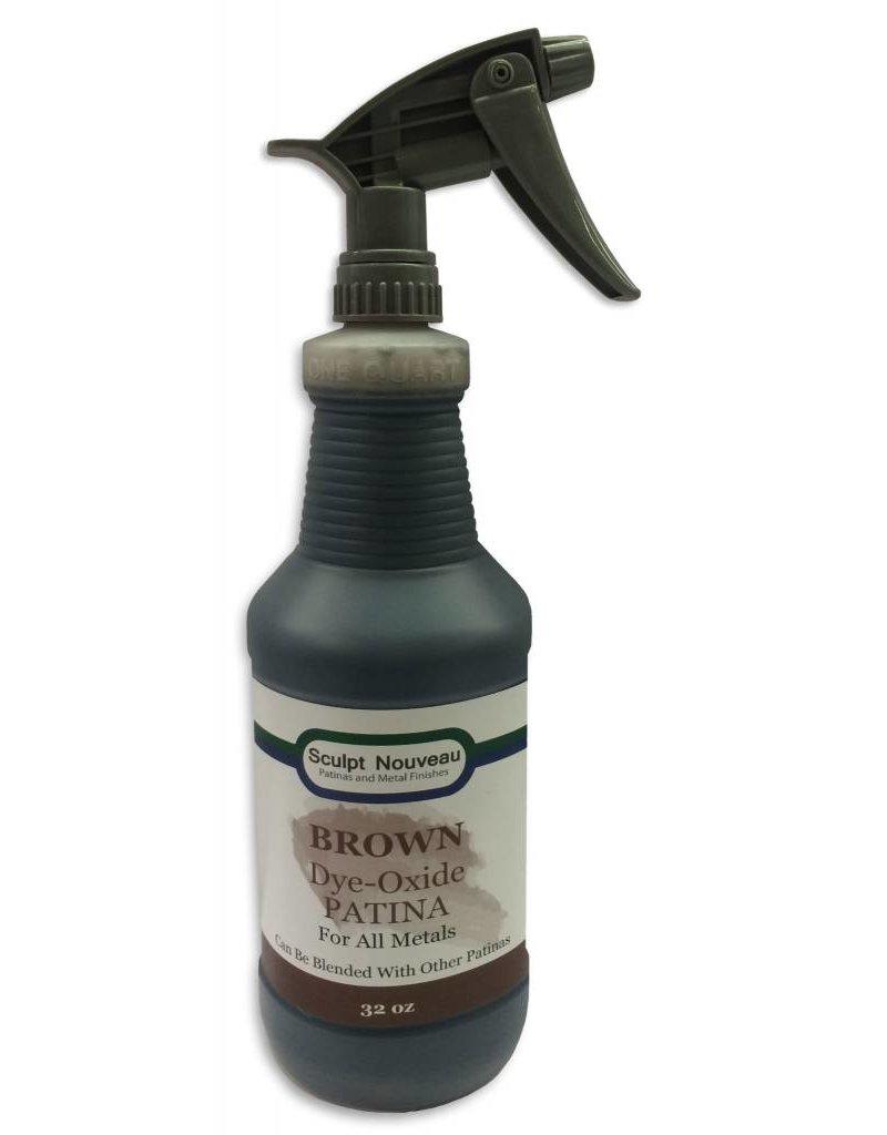 Sculpt Nouveau Dye Oxide Brown 32oz