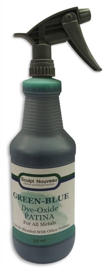 Sculpt Nouveau Dye Oxide Green-Blue 32oz
