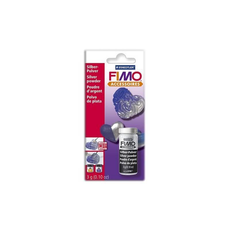 Fimo Silver Powder 3g