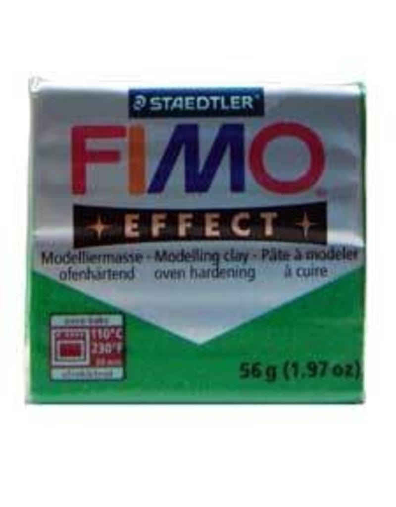 Fimo Soft Metallic Green #502 2oz
